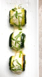 Easy Zucchini Appetizer | Hot Roll Up Appetizer | Zucchini Alfredo Roll Ups | Alfredo Sauce Without Heavy Cream | Ricotta Roll Ups #rollups #appetizer #easy #bitesized