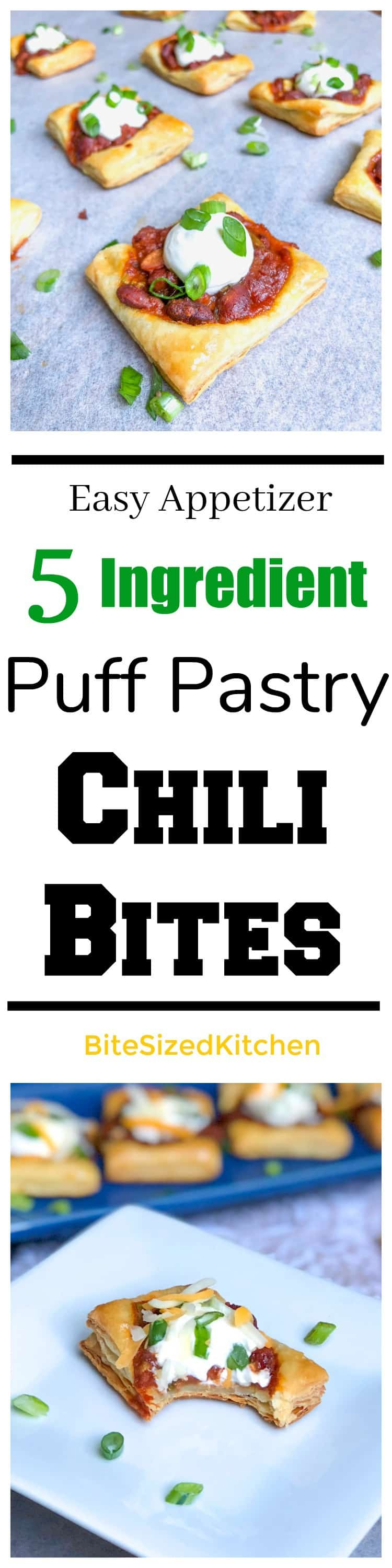 Easy Puff Pastry Appetizer Recipe with Chili