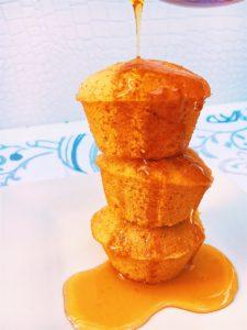 Mini Maple Corn Muffins