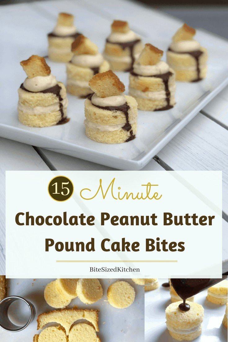 How to make quick and easy mini cakes or petit fours. Fun bite sized dessert or pasteles individuales for any party. #minidessert #petitfours