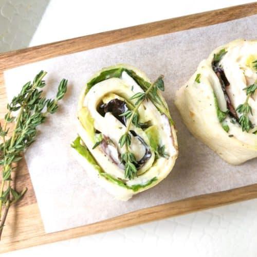 Quick Healthy Turkey Avocado Wrap | Roll Up | Low Carb Lunch Ideas | Turkey Tortilla Wrap Recipe | Turkey Avocado Easy Lunch