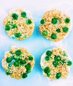 Easy 15 Minute Quinoa Bites With Peas