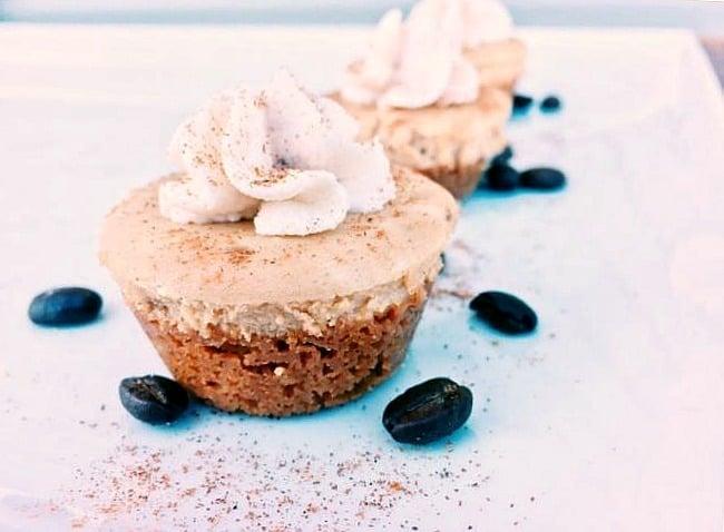 Mini Kahlua Coffee Cheesecake Crunch Bites