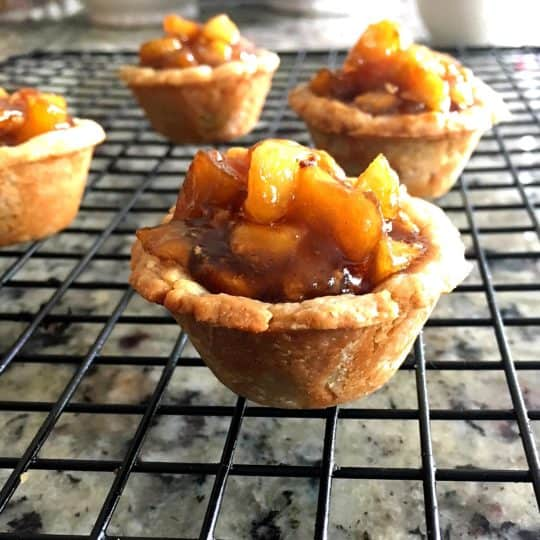 Mini Chai Spiced Tea Apple Pies