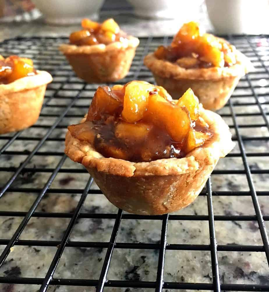 Mini Chai Tea Apple Pies