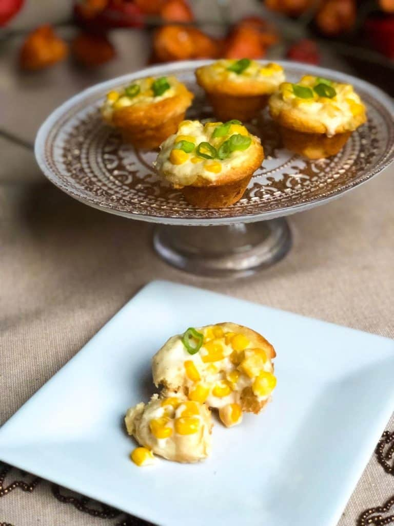 Creamed Corn Biscuit Cups