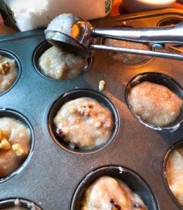 Healthy Grab-and-Go Banana Walnut Muffins