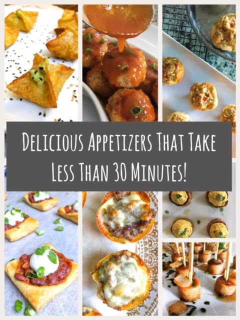 Easy Quick Fancy Appetizers For a Party