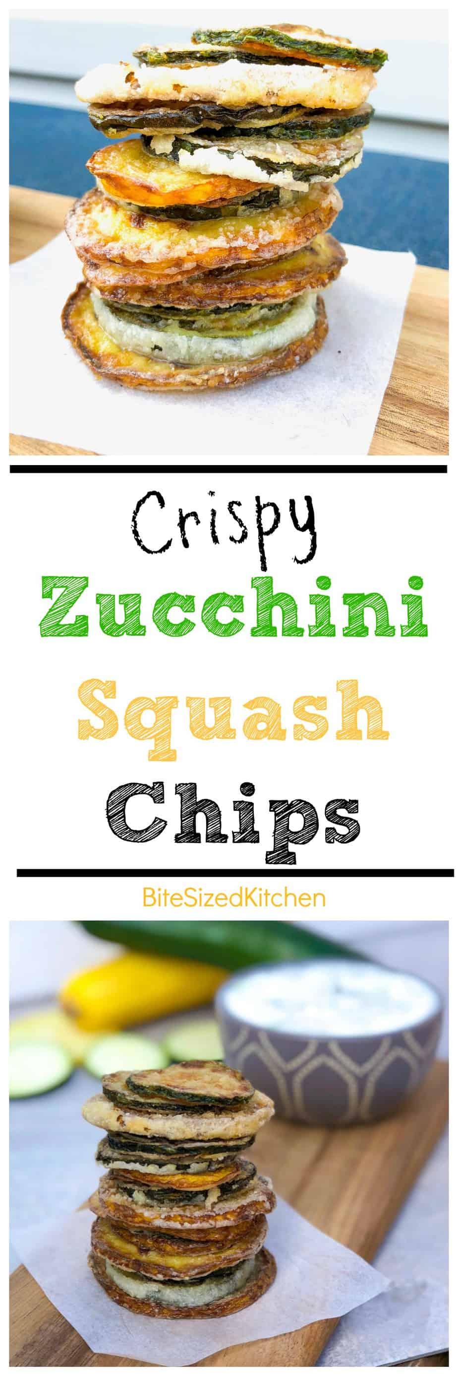 Crispy Zucchini Chips | Fried Zucchini Chips | Easy Zucchini Chips | Tasty Quick Zucchini Chips | Crunchy Zucchini Chips | Gluten free Chips | The best zucchini chips | Crispy fried squash chips | Veggie Chips