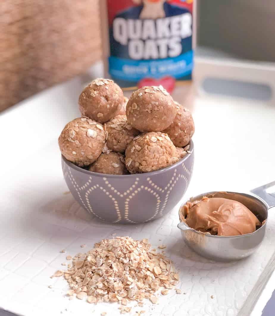 oatmeal energy protein balls