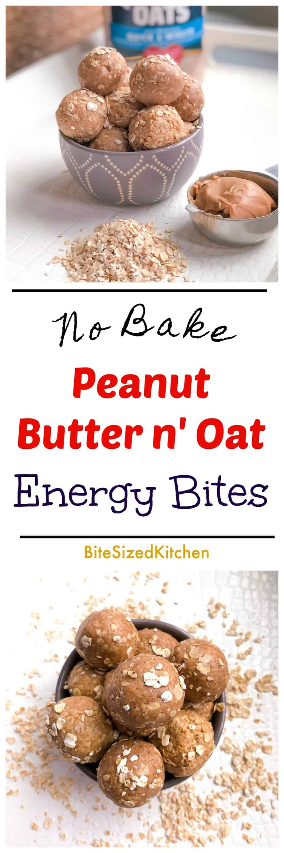 Healthy No Bake Protein Simple Energy Bites | Peanut Butter and Oatmeal Energy Bites | Paleo Low Carb Energy Bites | Energy Protein Balls | Healthy Keto Protein Bites | Peanut Butter Bites