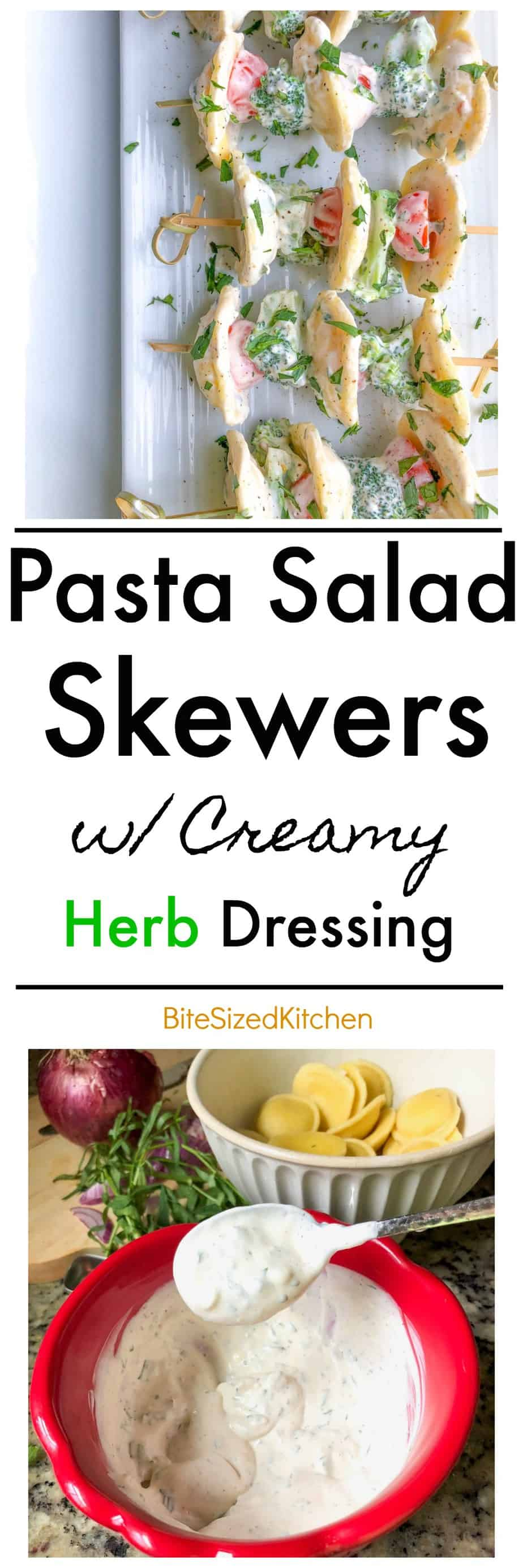 Creamy Summer Cold Pasta Salad Appetizer Recipe | Easy Cold Pasta Salad Recipe | Pasta Salad Skewers Sticks | Broccoli and Tomato Pasta Salad | Cold Easy Summer Party Appetizer