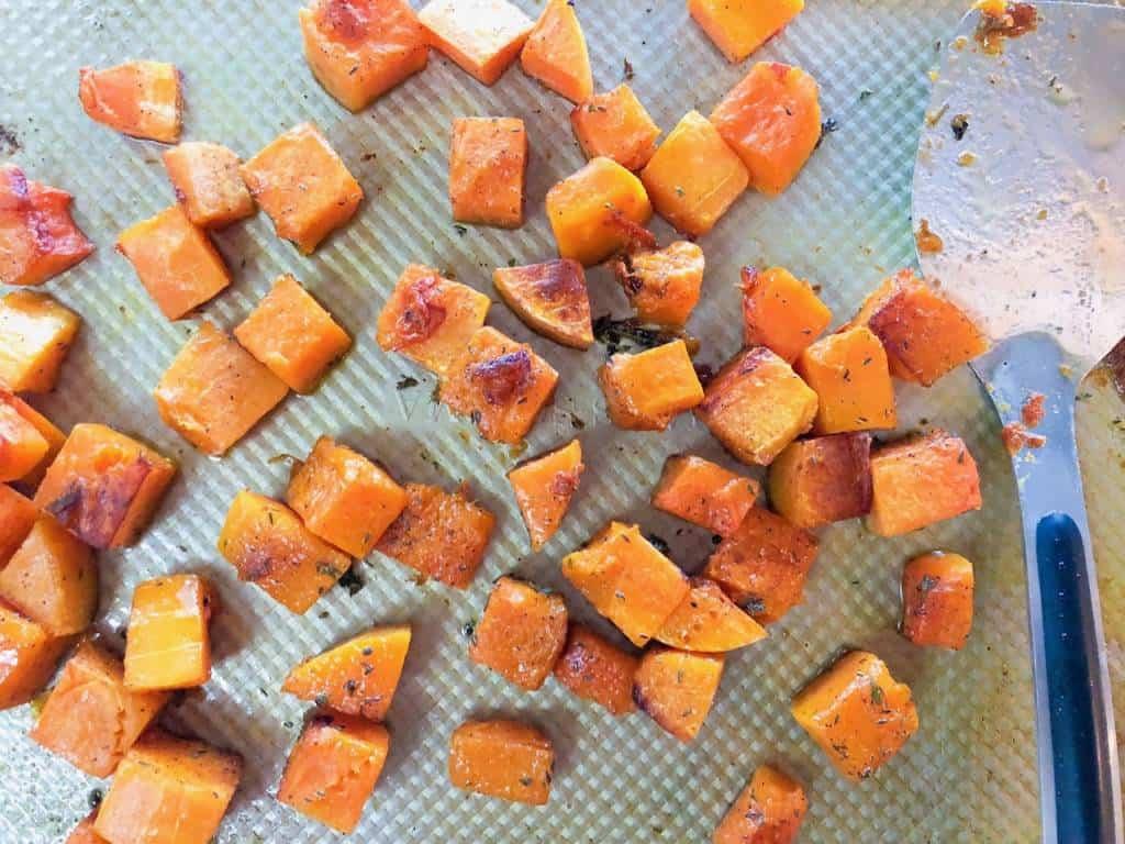 fall skewered appetizer