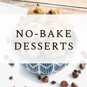 desserts that require no baking