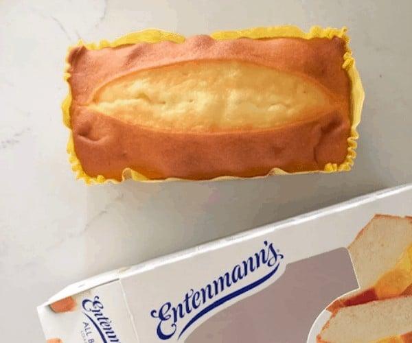 Entenmann's butter pound cake loaf.