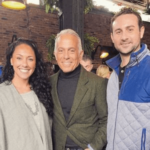 aleka derek and Geoffrey Zakarian at the NY food and wine festival