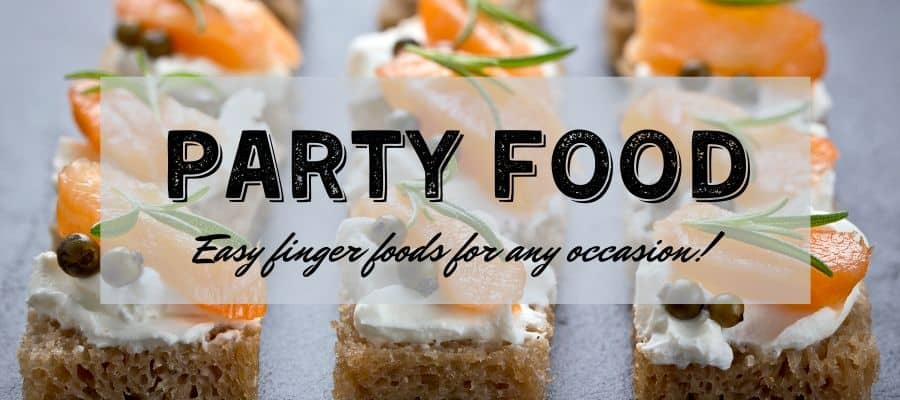 Party food recipes that are bite sized