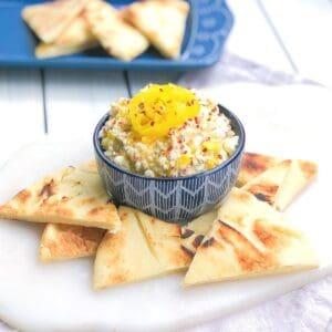 spicy Greek feta cheese dip