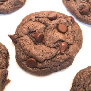 chocolate cake mix cookie