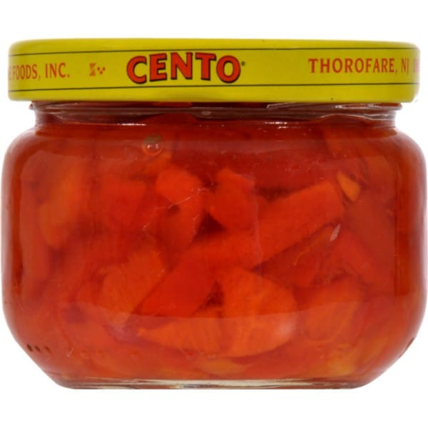 cento pimento peppers in a jar
