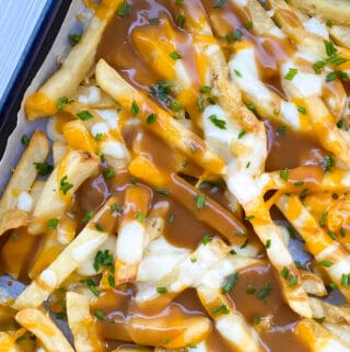 easy french fries with gravy appetizer