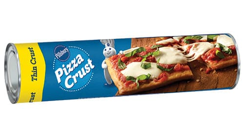 can of pillsbury pizza crust