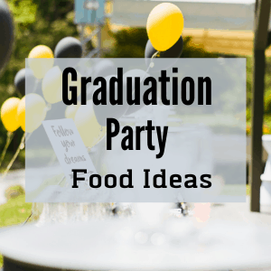 graduation party outdoors with balloons