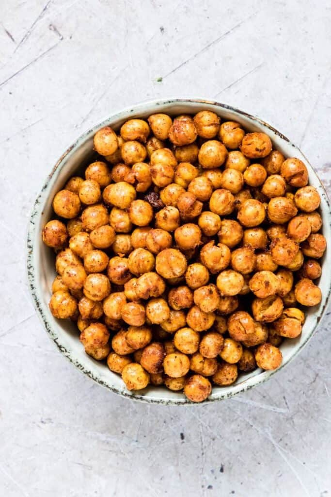 chick peas party snack