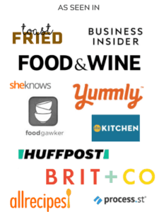 banner of outlets that bite sized kitchen has been featured in