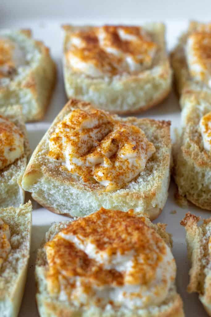 Crab puffs appetizer recipe