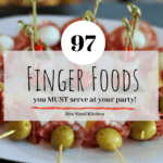 Bite sized finger food ideas and recipes for a party