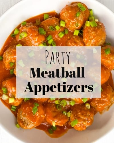 meatball party appetizers