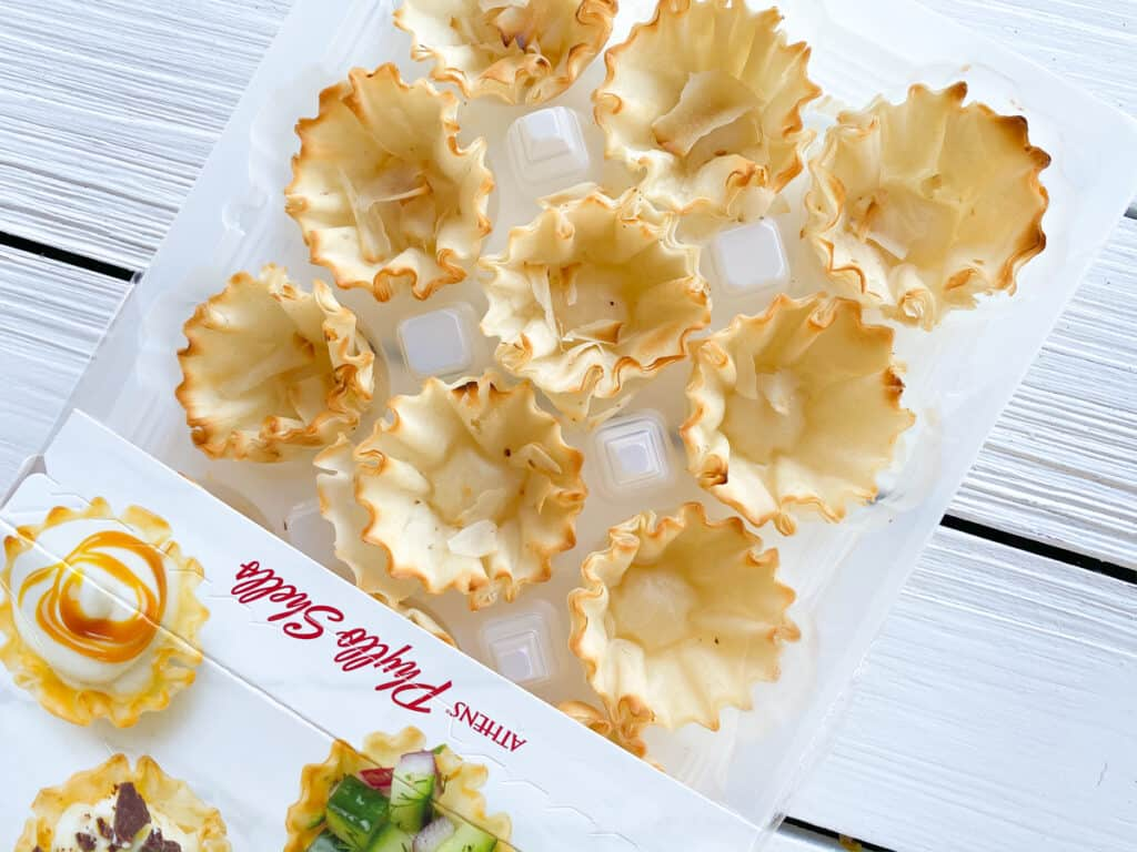 phyllo cups in a package