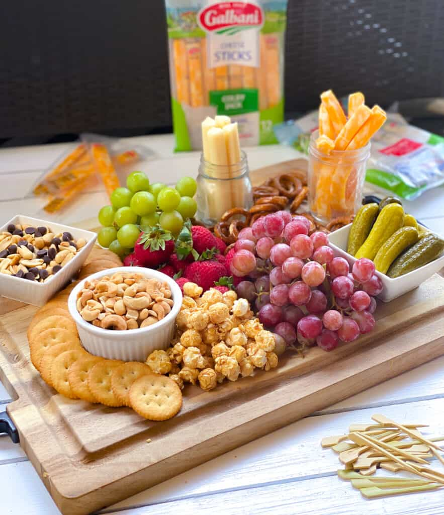 Easy Kids Charcuterie Board For Parties