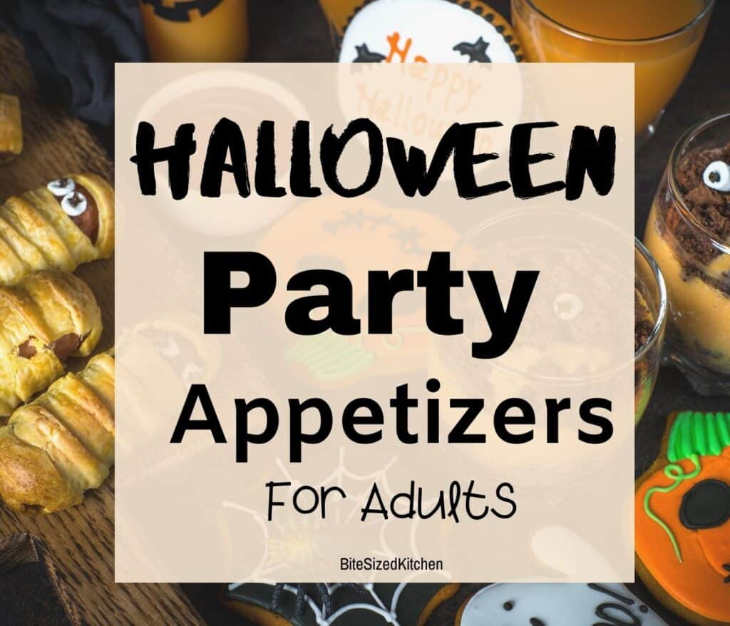 halloween appetizers for adults