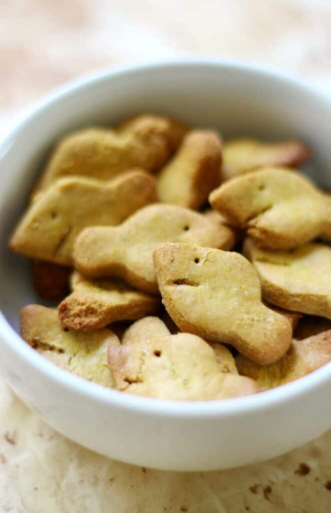 goldfish snack in a bowl