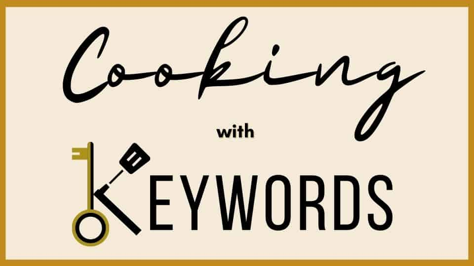 keyword research for food bloggers.