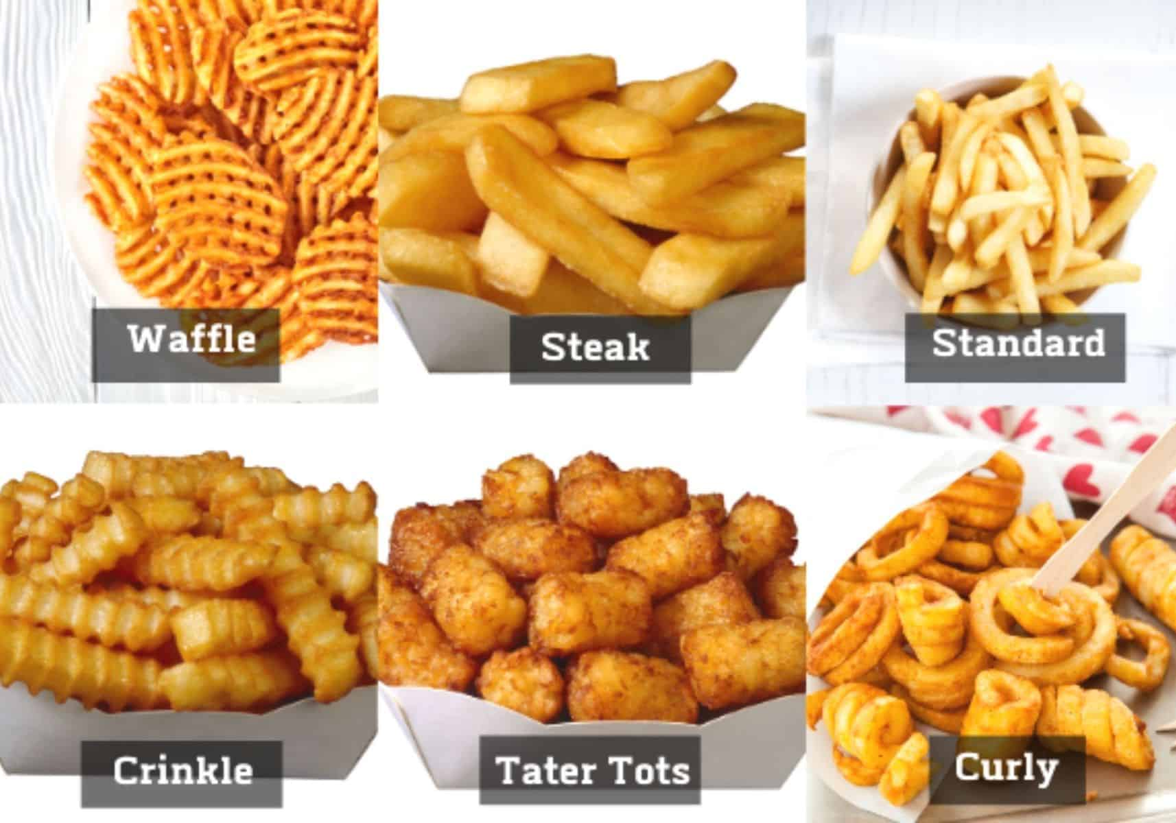 french fry choices diagram.