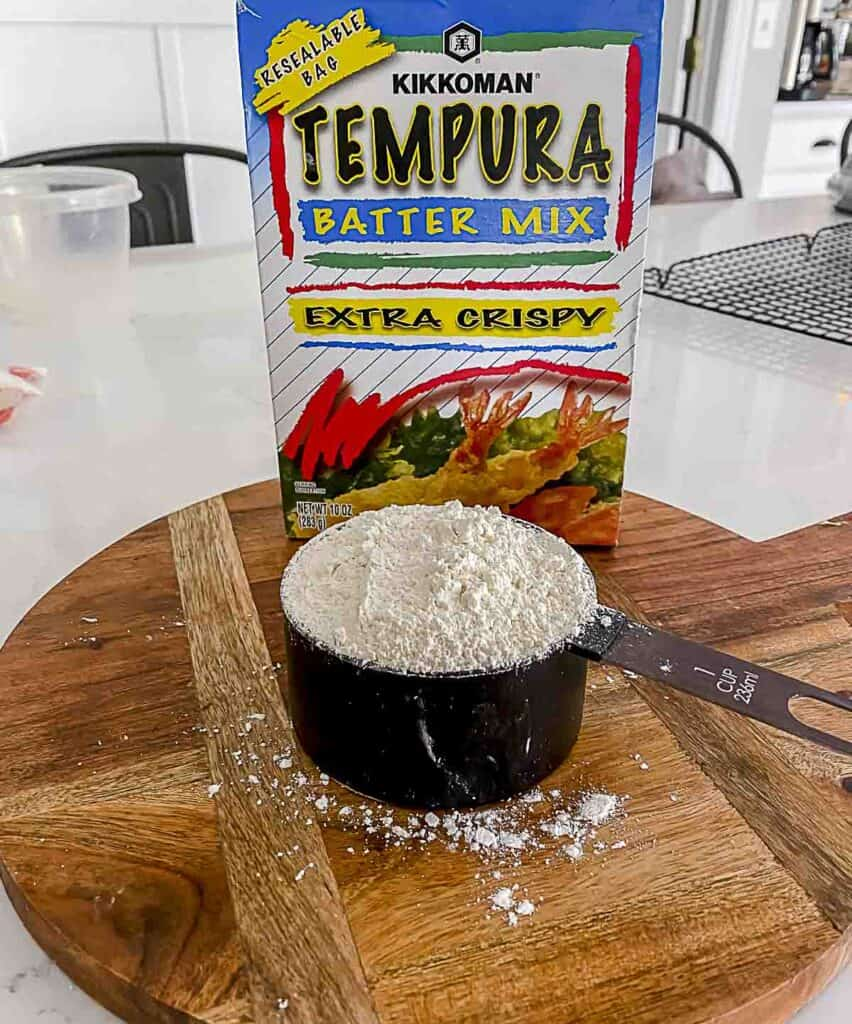 Box of tempura batter.